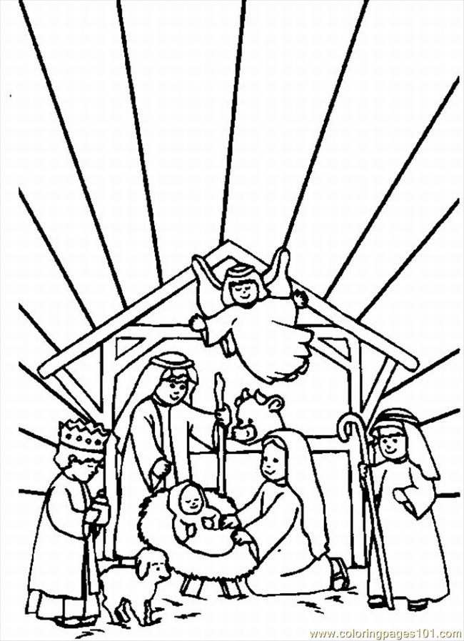 Ent Churches In The Bible Lrg Coloring Page
