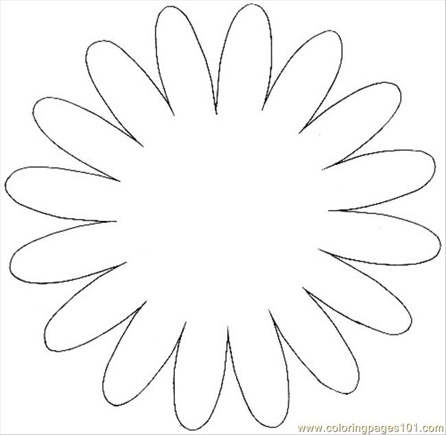 Flower3pattern Coloring Page