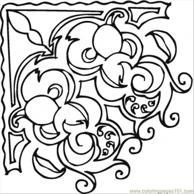 Frame For The Painting Coloring Page