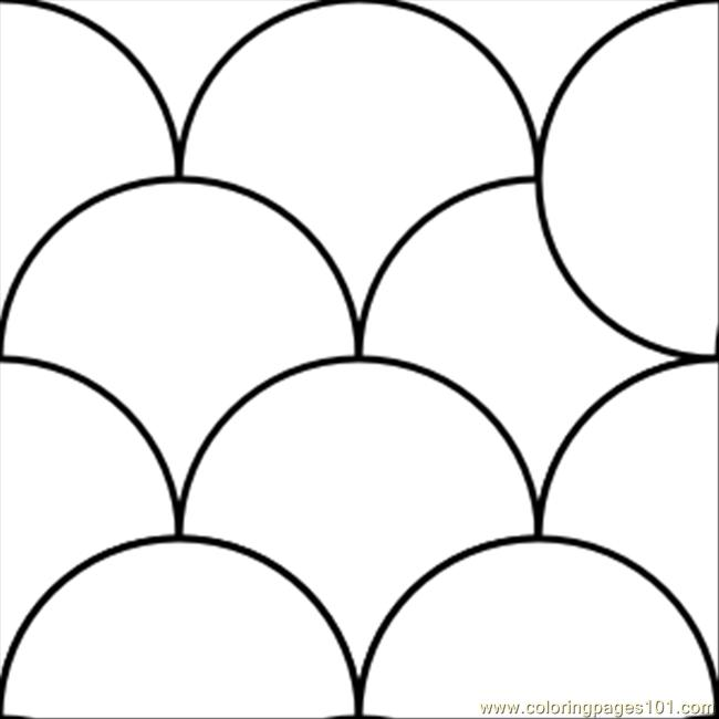 Pattern Circles 1.svg.med Coloring Page