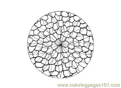 Stained Glass049 Coloring Page