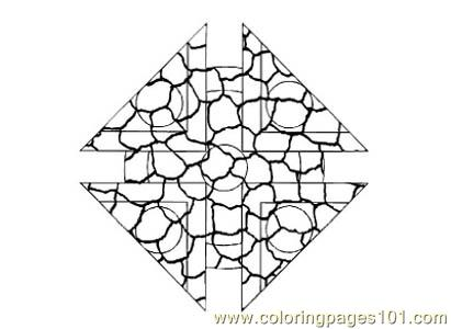 Stained Glass073 Coloring Page