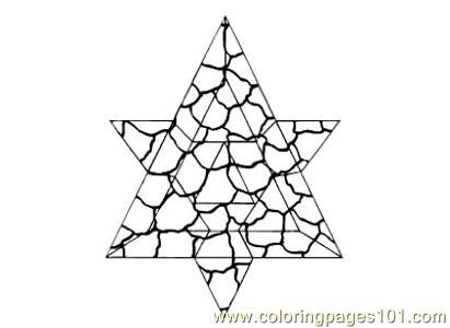 Stained Glass087 Coloring Page