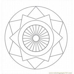 Cate Patterns And Designs Lrg Free Coloring Page for Kids