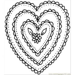 Shaped Ornament Coloring Page