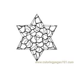 Stained Glass082 Free Coloring Page for Kids