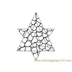 Stained Glass087 Free Coloring Page for Kids
