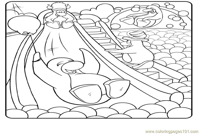 club penguin coloring pages gallery here are the