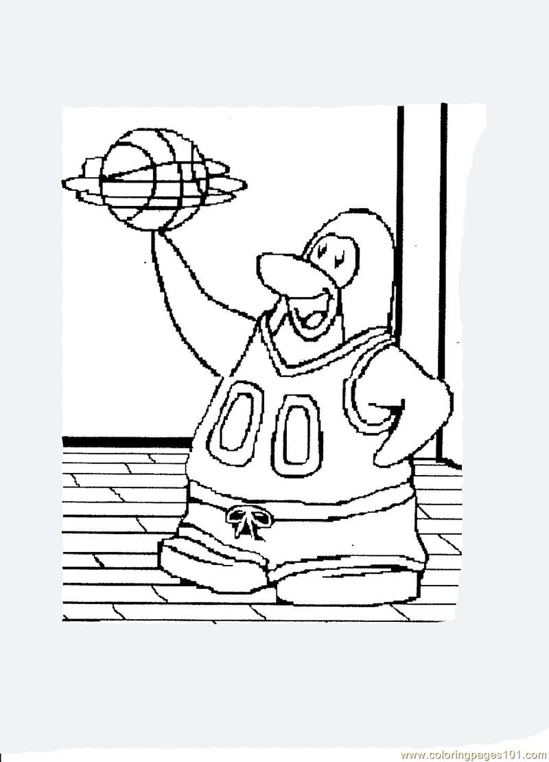 Penguins coloring pages printable
