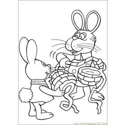 Peter Cottontail 03 coloring page