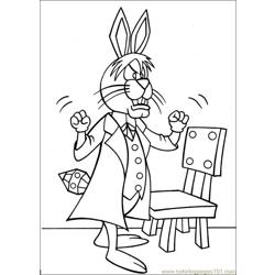 Peter Cottontail 05 coloring page