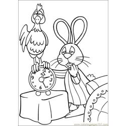 Peter Cottontail 11 Free Coloring Page for Kids