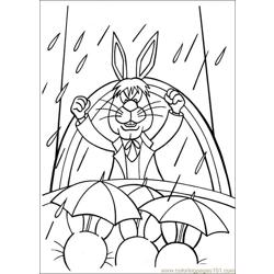 Peter Cottontail 15 Free Coloring Page for Kids