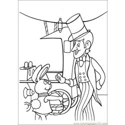 Peter Cottontail 17 Free Coloring Page for Kids