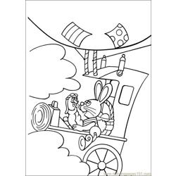Peter Cottontail 19 Free Coloring Page for Kids
