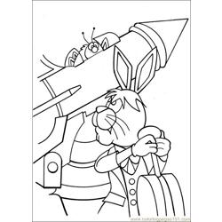 Peter Cottontail 20 coloring page
