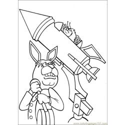 Peter Cottontail 21 Free Coloring Page for Kids