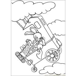 Peter Cottontail 23 Free Coloring Page for Kids