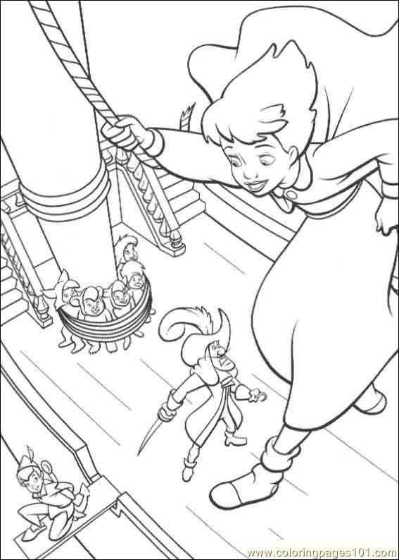 Peterpan2 15 Coloring Page