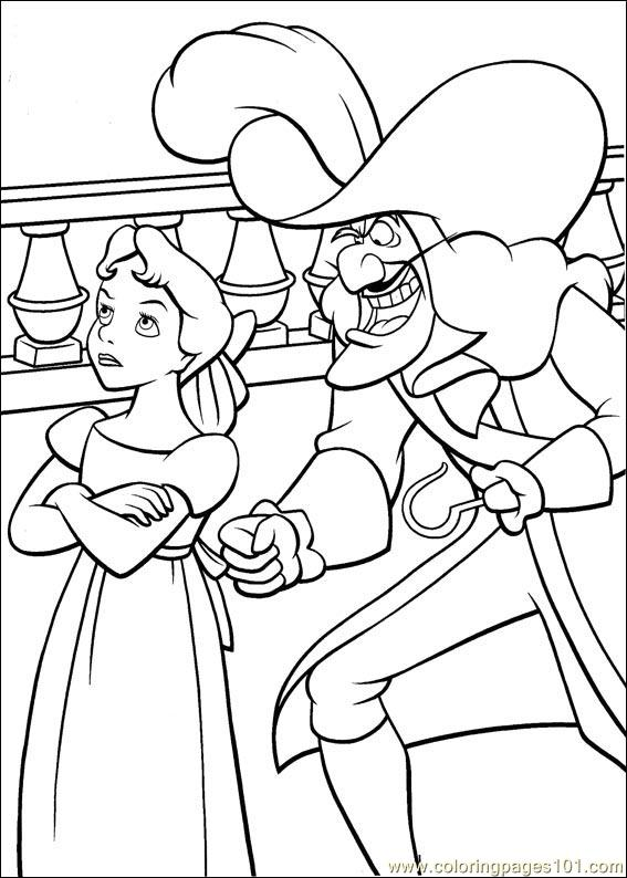 peter pan 24 coloring page
