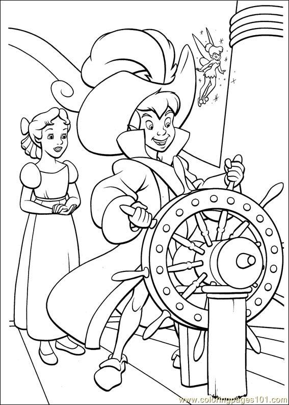 peter pan 30 coloring page