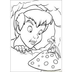 Peter Pan 25 coloring page