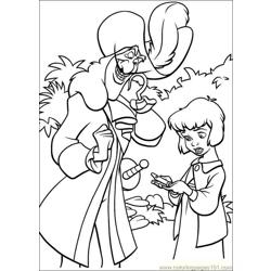 Peter Pan 26 coloring page
