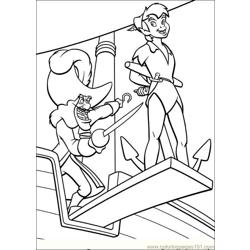 Peter Pan 28 coloring page