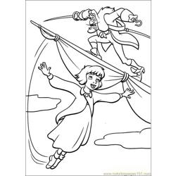Peter Pan 29 coloring page