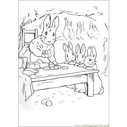 Peter Rabbit22 coloring page