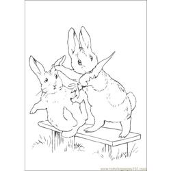 Peter Rabbit23 coloring page
