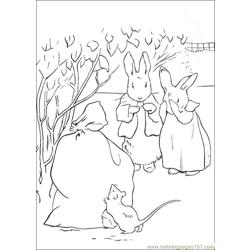 Peter Rabbit27 coloring page