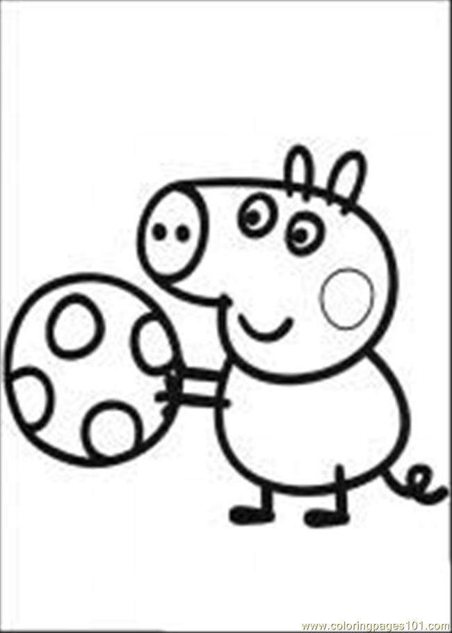 Peppa Pig 03 M Coloring Page