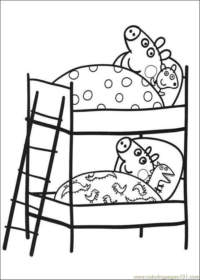 Peppa Pig 09 Coloring Page