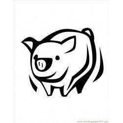 57 Ree Pig Coloring Pages 11 Lrg