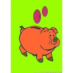 Ree Pig Coloring Pages 12 Med 1