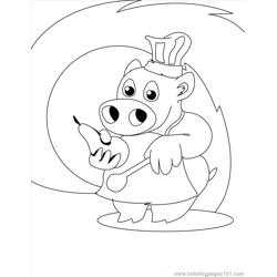 Chef Coloring Page Source Q1s