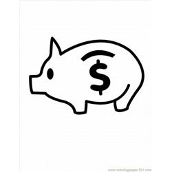Free Pig Coloring Pages 2 Lrg
