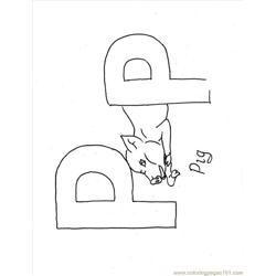 Lphabet Coloring Pages P Full