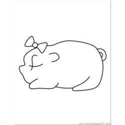 Ree Pig Coloring Pages 14 Med