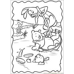 Piglet coloring page