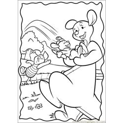 Piglet Free Coloring Page for Kids