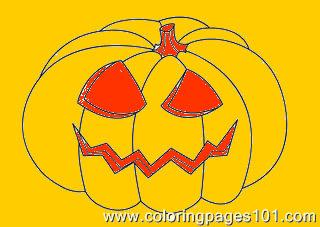 Halloween08  Coloring Page