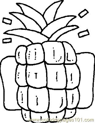 Pineap Coloring Page