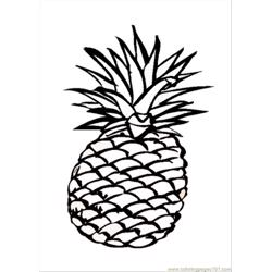 63  Pages Photo Pineapple Dm9547 coloring page