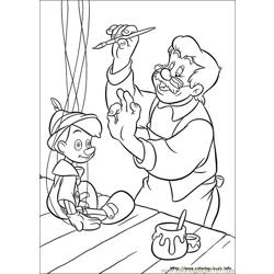 Pinocchio 20 coloring page