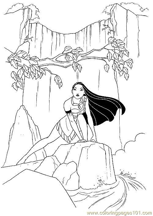 Pocahontas Coloring Page Free Pocahontas Coloring Pages