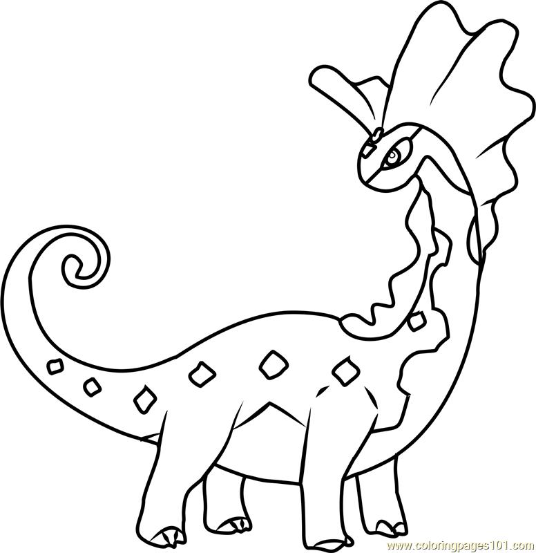 Aurorus Pokemon Coloring Page