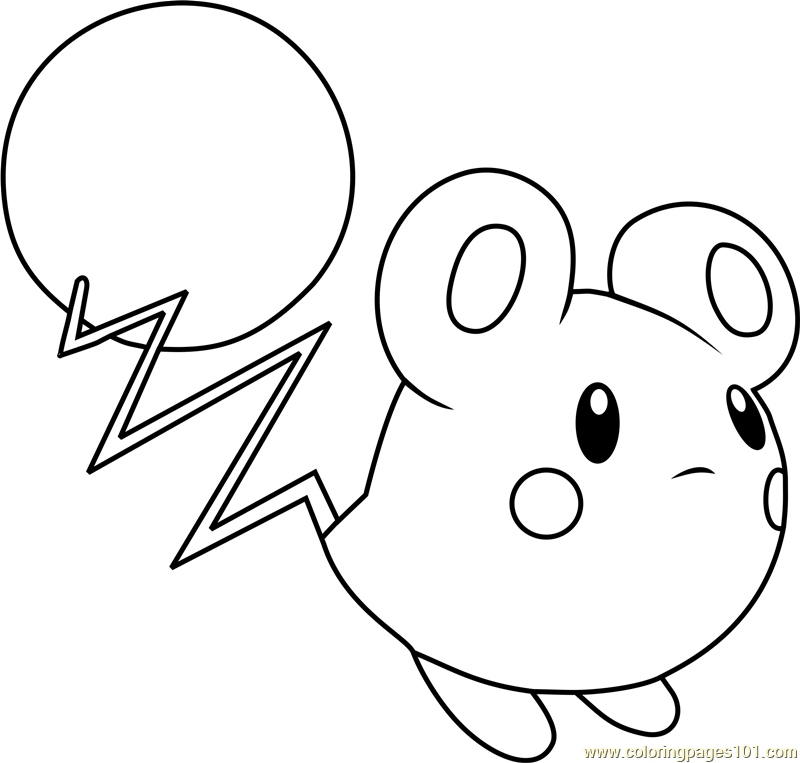 Flabebe Pokemon Coloring Pages Sketch Page