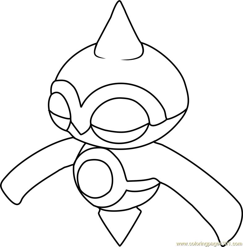 Baltoy Pokemon Coloring Page